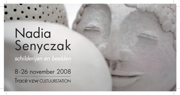 Uitnodiging vernissage Nadia Senyczak